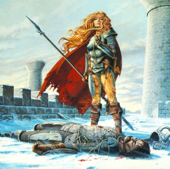 Sturm's Death por Larry Elmore